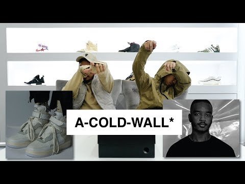 Episode 15 : Unboxing Air  Force 1 x A-COLD-WALL*