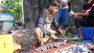 AMAZING FISH CUTTING Skills - Indian style fish fellet