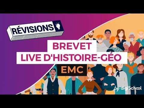 Brevet 2017 : Révisions live d'EMC - digiSchool
