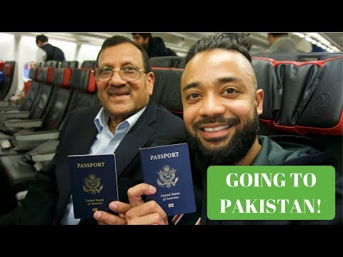 TRAVELING TO PAKISTAN!