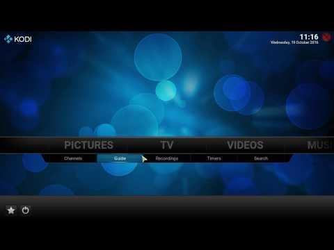 Raspberry Pi 3, OpenELEC 7.0 Beta 3: TV Tuner Einrichten Mit Tvheadend (WinTV-soloHD)