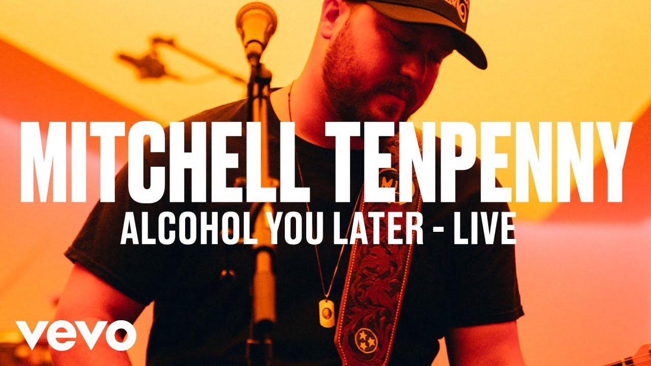 Mitchell Tenpenny — «Alcohol You Later» (Live) | Vevo DSCVR