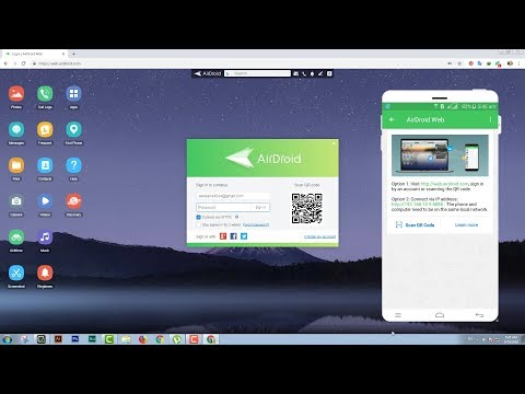 AirDroid: Remote Access & File/Full Control Android Phone From PC