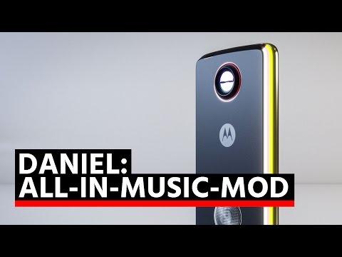 Moto-Mods-Wettbewerb: All-in-Music-Mod von Daniel