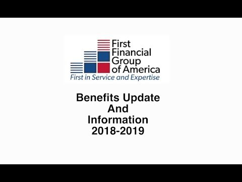 First Financial Benefits Update and Information - Harold Miller