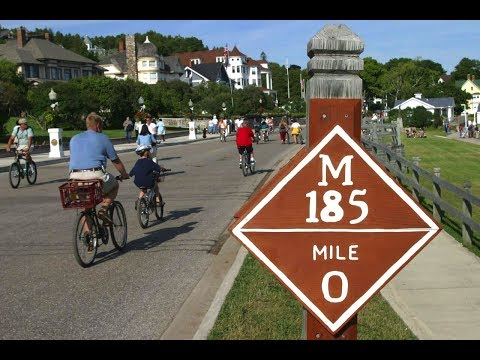 Bicycle Ride Around Mackinaw Island