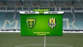 MŠK Žilina - SFC Opava 0:1 (0:1)