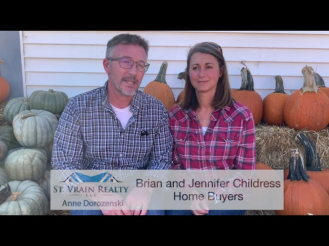 Brian and Jennifer tell us about working with Anne Dorozenski, Realtor with St. Vrain Realty, LLC