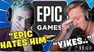 NINJA TALKS ABOUT THE TFUE NO SKIN MOVEMENT!!! FORTNITE EPIC MOMENTS FUNNY MOMENTS