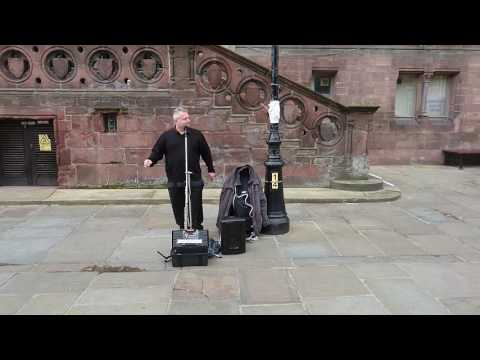 Barry Jackson Street Performer