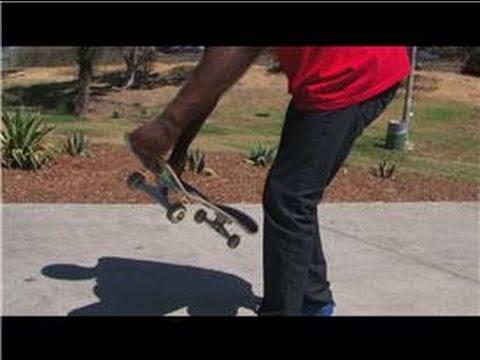 Advanced Skateboarding : Skateboard Tricks: How To Do A Backside 180 Kickflip