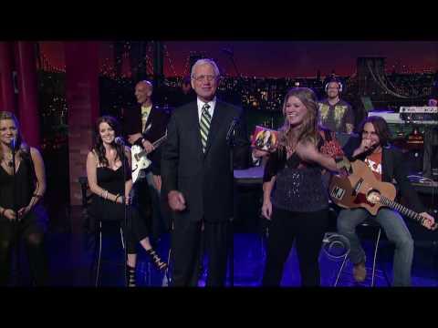 Kelly Clarkson - Already Gone HD [LIVE] @ Letterman