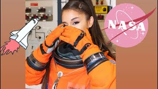 Ariana Grande visit the NASA (Behind the Scenes)