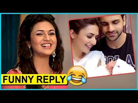 Divyanka Tripathi's FUNNY Reply On Having A BABY | Interview