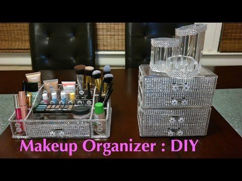 Makeup Organizer : DIY