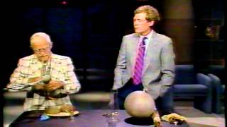 Disney Sound Effects Master on 80's Letterman Show | Video
