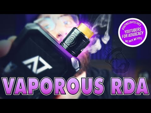 Daily Vape TV- Wotofo Vaporous RDA Review