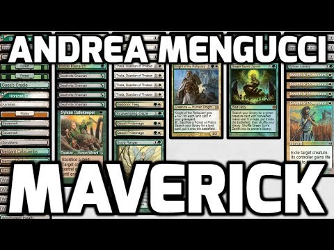 Channel Mengucci - Legacy Maverick (Deck Tech & Matches)
