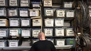 Ask Adam Savage: About M5's Wall of Labeled Storage Bins