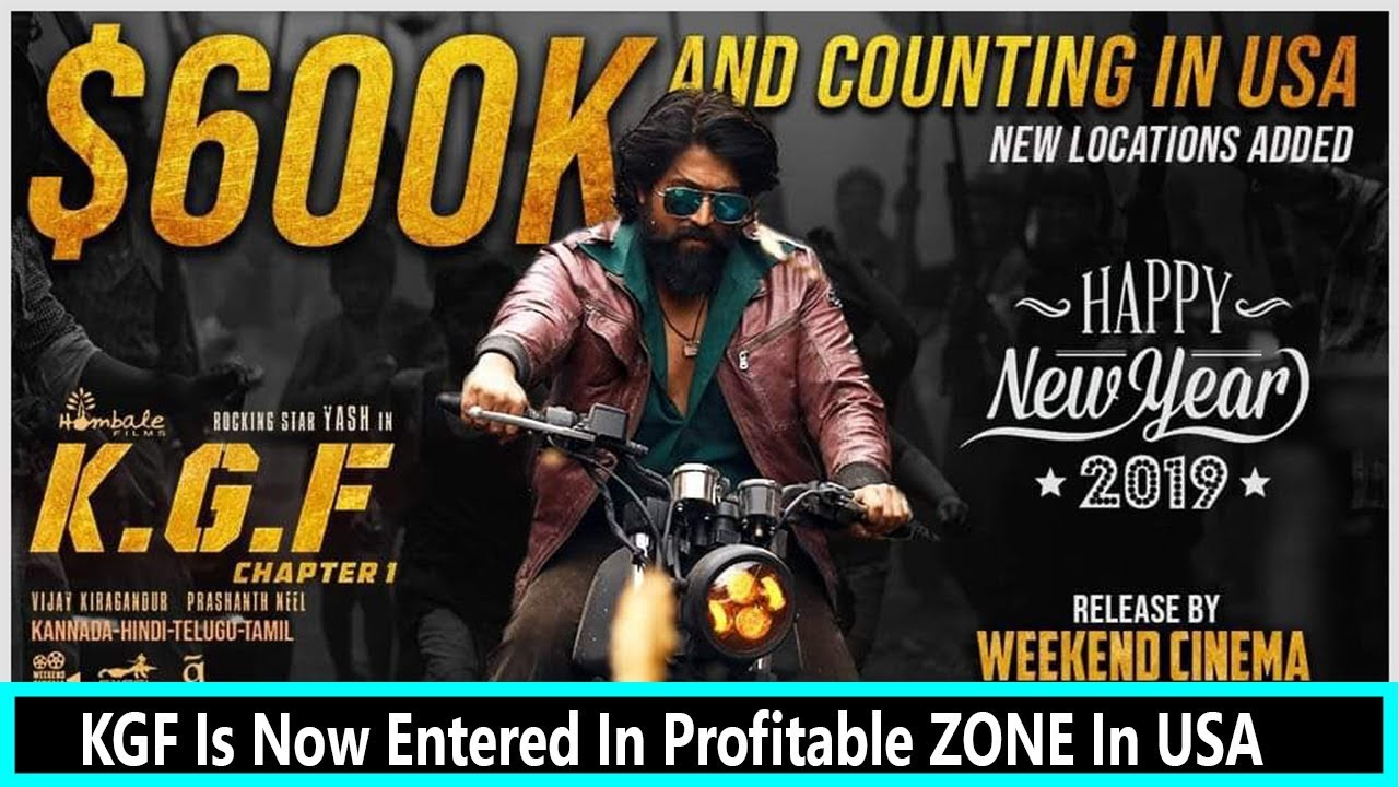 Kgf Becomes Fastest Kannada Film To Cross 600k Gross And It Is Not
