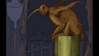 Digital art: folklore and legends the Abura-Akago part 01