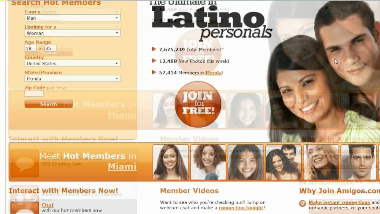 Make a great profile on a latin dating site