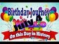 Birthday Journey July 4 New