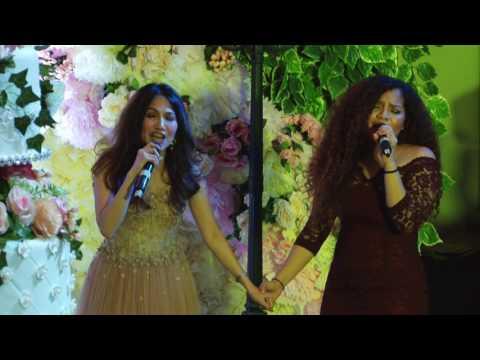 JACQLIEN CELOSSE & KAREN SEROUNA  WEDDING RECEPTION JAKARTA