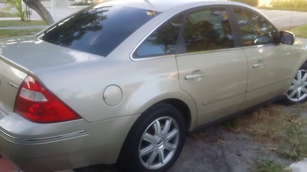 Not A Professional Review Of My 2006 Ford Five Hundred Limited Sold 2016