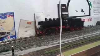 Piko 37220  Spur G Dampflok mit Tender BR 24 054 Sound/Rauch/Digital Modellbahn Bertram