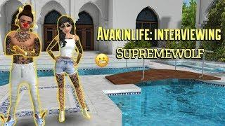 Avakin Life Interviewing Avu.Supreme Wolf