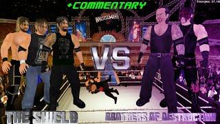Brothers of Destruction vs The Shield at WrestleMania 33 - Wrestling Revolution 3D