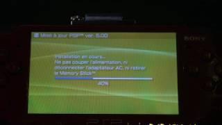 Installation du Custom Firmware 5.00 M33