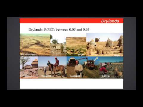Management and restoration of degraded drylands