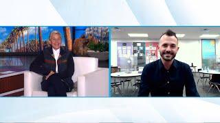 Ellen Surprises Exceptional 2nd Grade Teacher