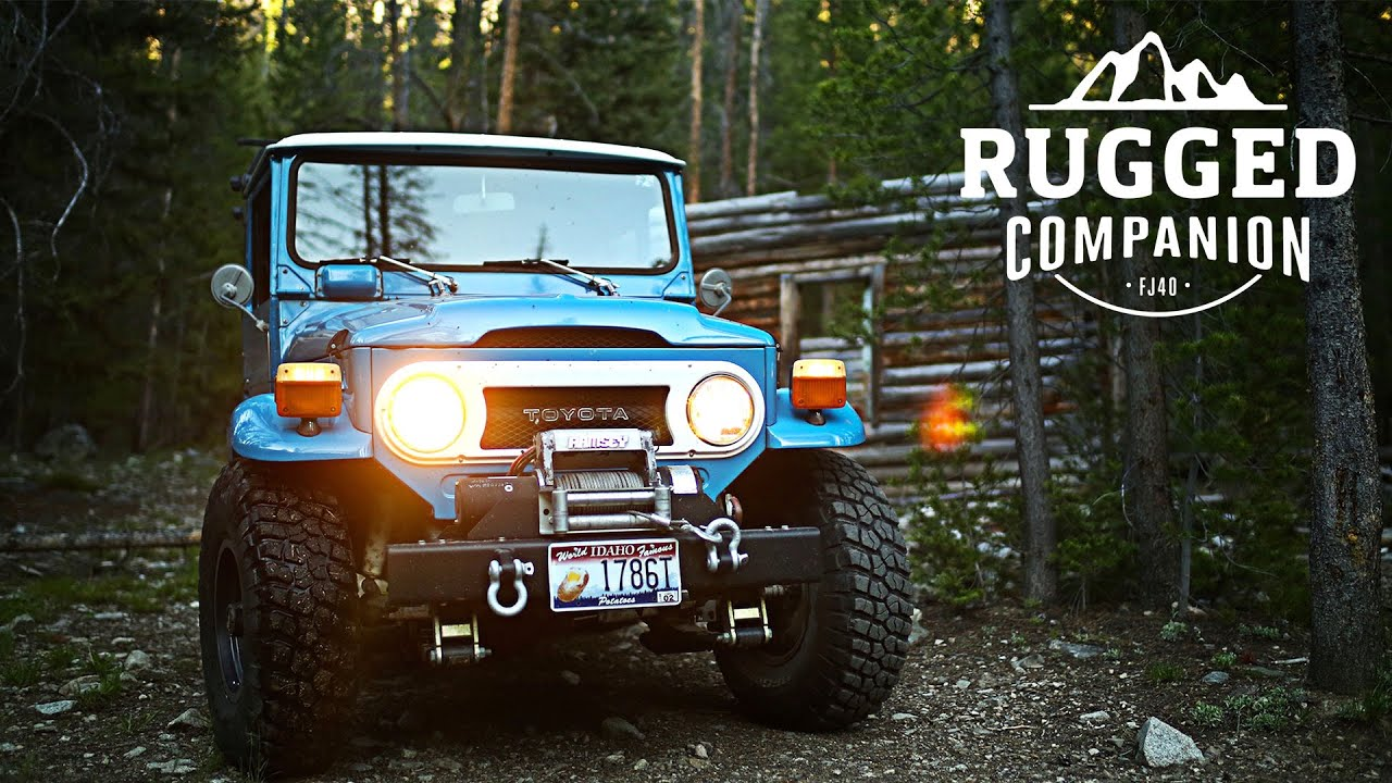 The Toyota Fj40 Is A Rugged Companion Youtube