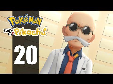 AUGUSTE, QUE T'ONT-ILS FAIT ?   Pokémon Let's Go Pikachu #20