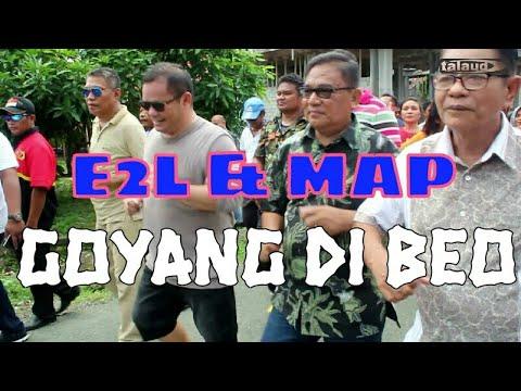 BUPATI  TERPILIH Dr. Elly Lasut Bergoyang Di Beo