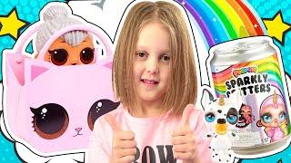 Куколки ЛОЛ- любимые Амелькины Игрушки! Лучшие серии с LOL!