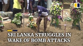 Mass funerals held for victims of Sri Lankan Easter Sunday bomb attacks