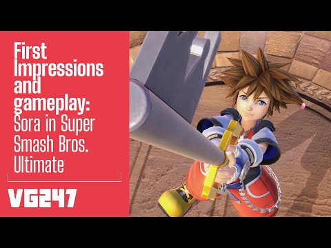 Super Smash Bros. Ultimate   Sora First Impressions And Gameplay