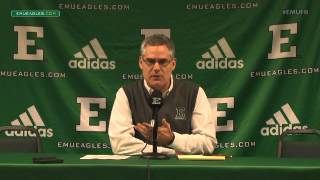 EMU Football Weekly Press Conference - Dec. 14, 2015