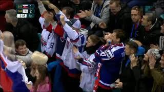 Hokej Slovensko Rusko 2018 ZOH