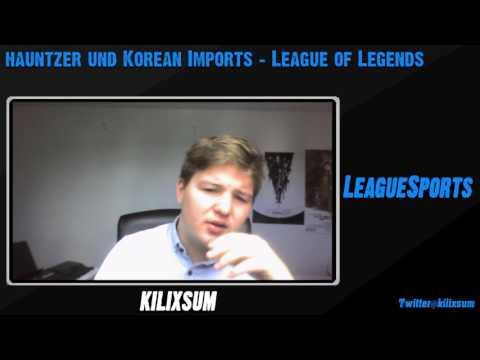 LeagueSports: Hauntzer und korean Imports