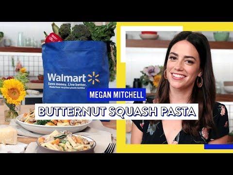 Butternut Squash Pasta With Spinach And Turkey Sausage | Megan Mitchell