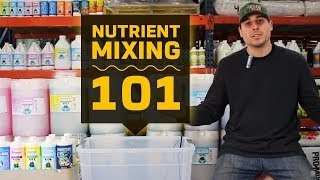 Gambar cover Nutrient Mixing 101 | Hydroponic Reservoir Management | Grow Room Tank Mixing