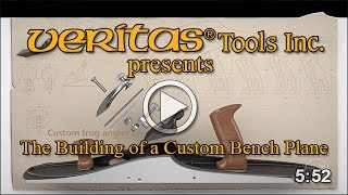The Building Of A Custom Bench Plane Revealed