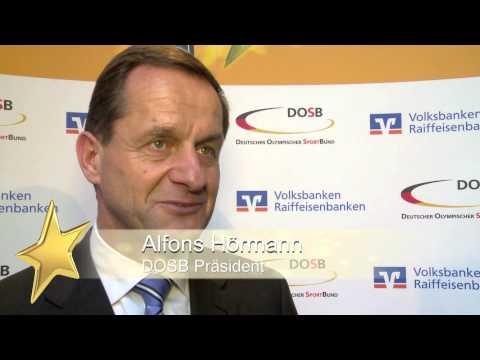 Vizekanzler überreicht Großen Stern des Sports in Gold / TSV SCHOTT Mainz für seine Kindersport-Akademie ausgezeichnet