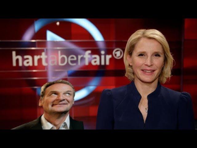 Hart aber Fair 27.01.2020 - Susan Link / Erläuterung zum Fehlen von Frank Plasberg