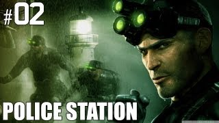 "Splinter Cell - Splinter Cell (2002) Part 2 ""Police Station"" Gameplay Playthrough PC Version"